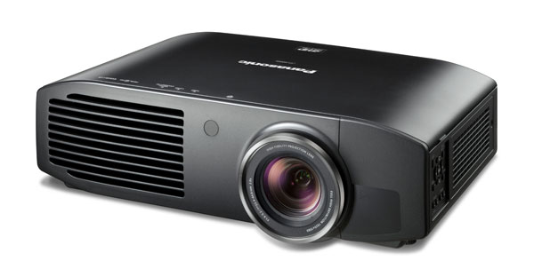 Panasonic 3D-projector-PT-AE8000 front view