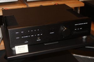The new Bryston B135 SST2  integrated amp.