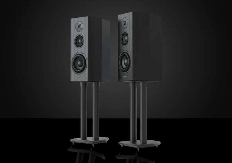 Bryston's Model T Mini standmount speakers.