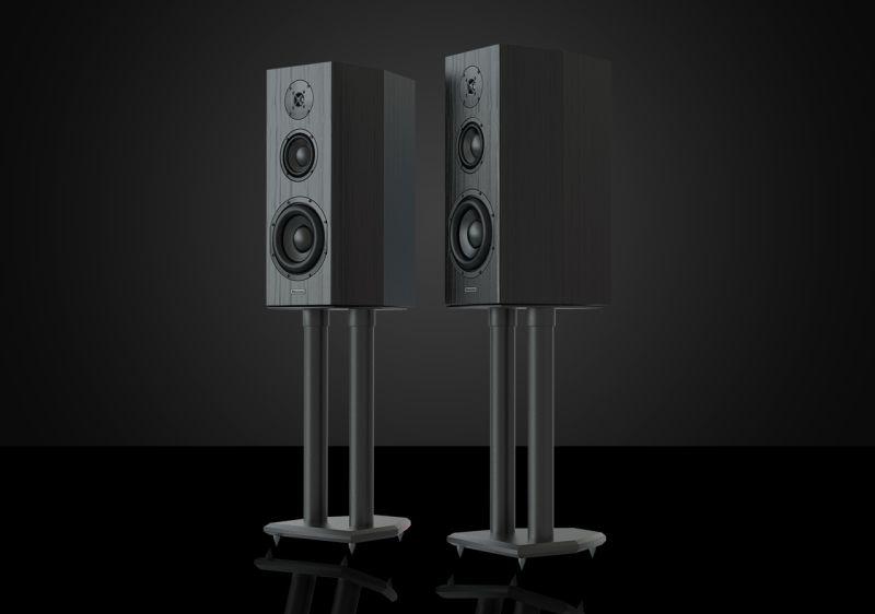 Bryston's Model T Mini standmount speakers.
