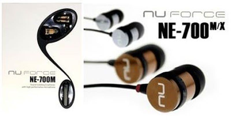 NuForce NE 700M earphones