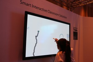 Interactive TV for the classroom from Panasonic.