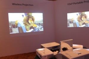 Wireless projection.