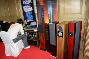New products at the Asia Sound room.