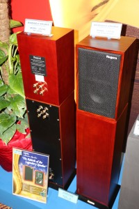 Rogers LS3/5A and sub-woofer at Wo Kee Hong's room.