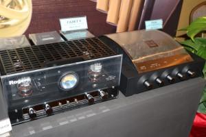 Rogers valve amps.