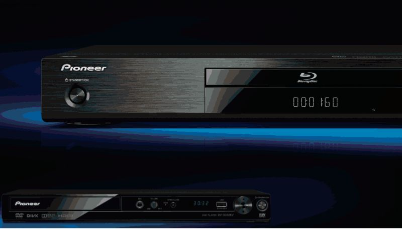 Pioneer Blu-Ray player