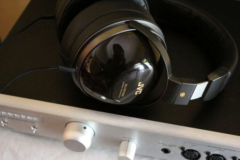 JVC's flagship HA-DX2000 headphones deserve a good quality headphone amp like the Bryston BHA-1 to sound good.
