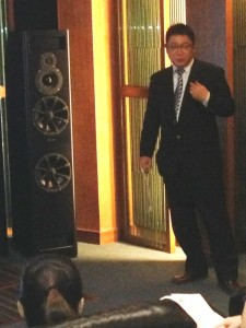 Mr Michiya Iwasaki, JVCKenwood Corporation, expects to sell 10,000 units of projectors in2014, with the US market expected to account for half the sales!