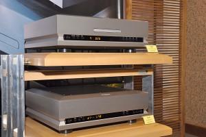 TAD D1000 CD player-cum-DAC and TAD DA-1000 DAC.