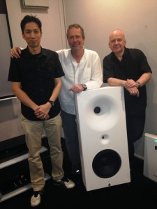 From left: Wong Tatt Yew (Audio Note (M) Sdn Bhd), Holger Fromme and David Browne.