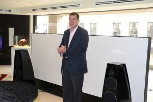 Meridian CEO Tim Ireland