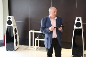 Meridian International Sales Manager Martin McCue
