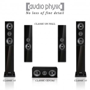 The Audio Physic Classic range of speakers.