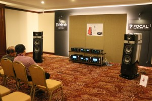 Another expensive rig comprising McIntosh and Focal speakers. This system sounded better than the McIntosh and Focal system on the 7th floor.