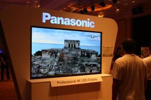 Panasonic's 4K display.
