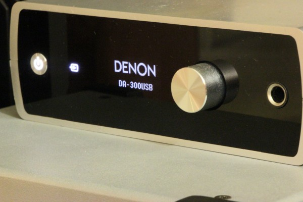 The Denon DSD-capable DAC is as big as a thick paperback novel.