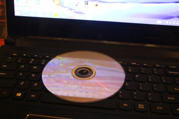 The laptop can be tweaked to make it sound as good as - ir not better than - a CD player when playing music.