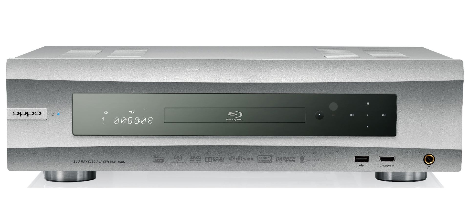 OPPO's BDP-105D. The Bluray player videophiles who will die for.