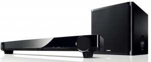 Yamaha first started the soundbar revolution about a decade ago with products very much like their YAS 201 seen here.  It's a good beginning for those who like to keep things simple.