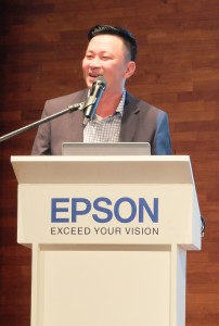 General Manager of Sales & Marketing, Danny Lee addresses the audience