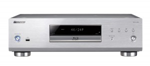 Pioneer's new flagship BD player, the BDP-LX88 is a heavy weight at 13.5 kg