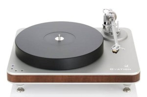 The Clearaudio Ovation turntable.