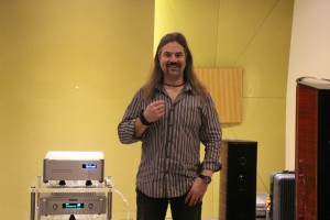 Nordost International Product Training & Sales Support chief Bjorn Bengtsson at Perfect Hi-Fi.