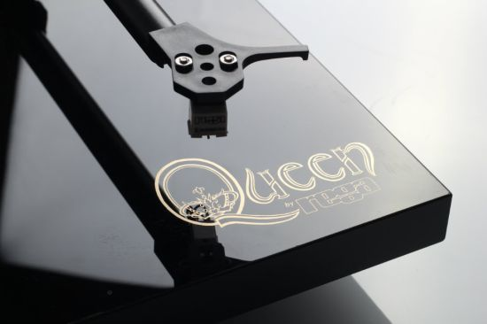 The Rega 'Queen' turntable.