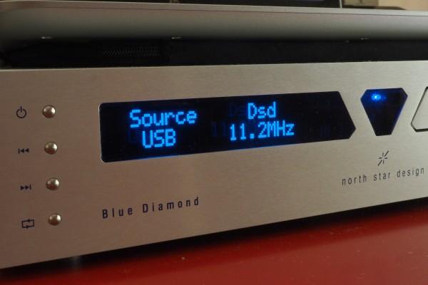 The North Star Blue Diamond CD player/DAC