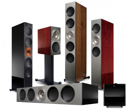 The KEF Reference speakers