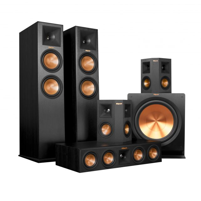 Klipsch Reference Premiere Home Theatre system.