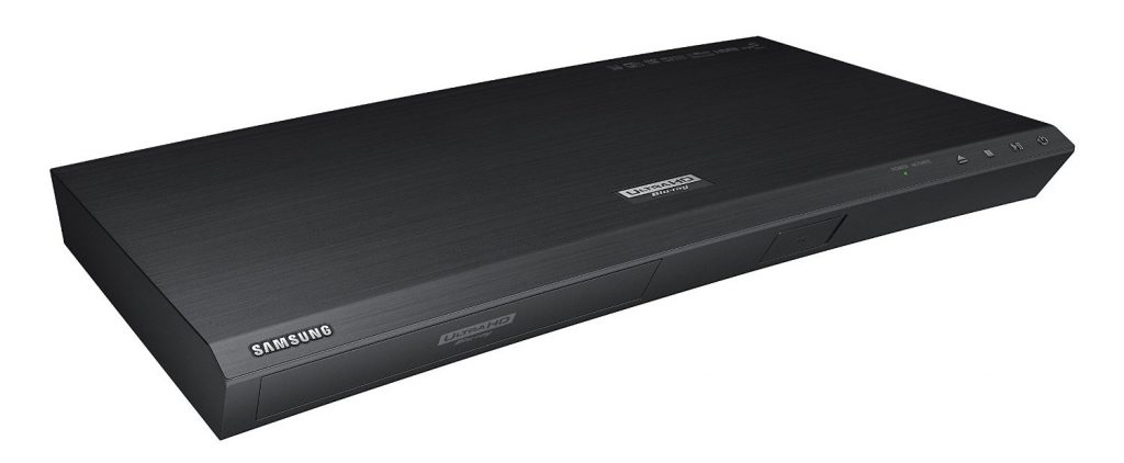 Samsung UBD K8500 UHD Blu-ray Disc player. Minimalist in looks, lots of performance packed features internally.