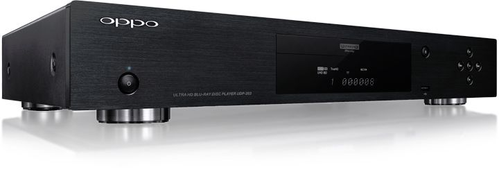 The Oppo UDP-203 4K Ultra HD Blu-ray Disc Player