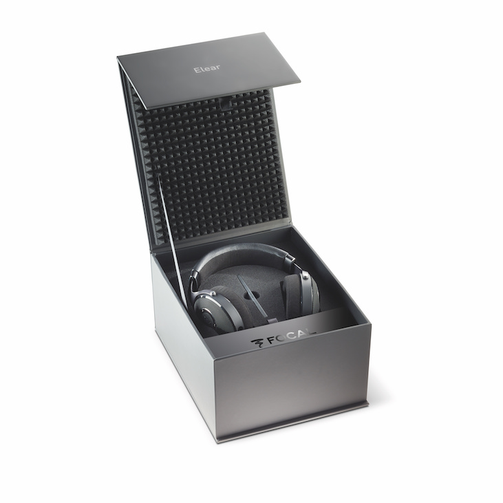 The plush packaging that comes with the Focal Elear reflects its premium quality