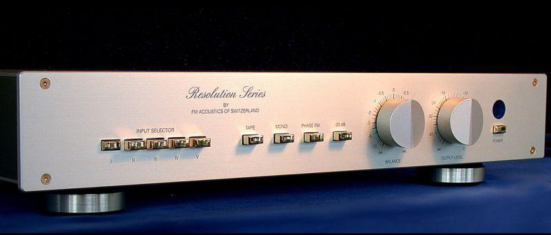 FM Acoustics 255 preamp