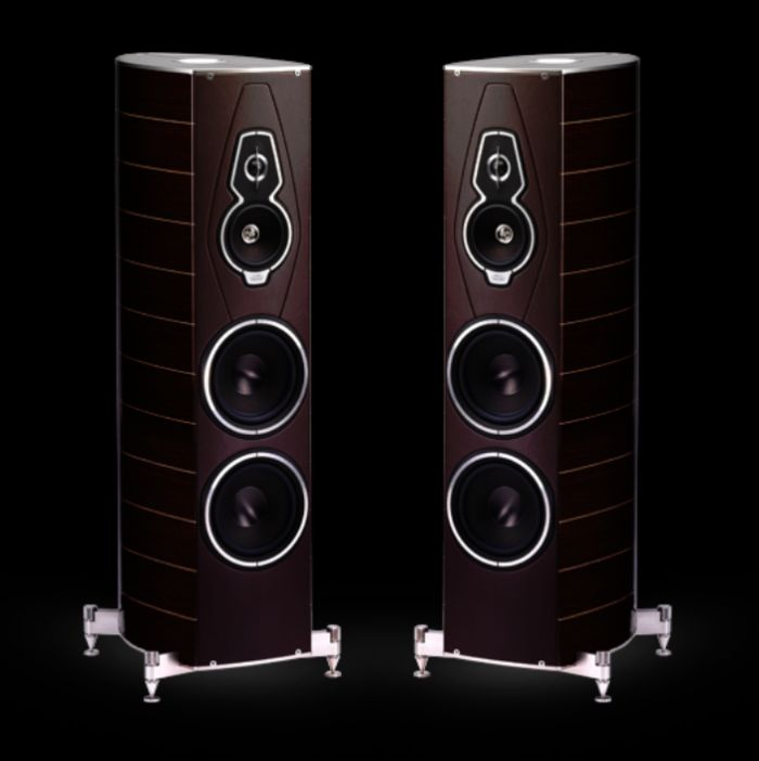 The Sonus Faber Amati Tradition speakers