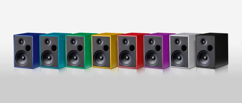 The Steinheim Alumine Two speakers come in a variety of colours.