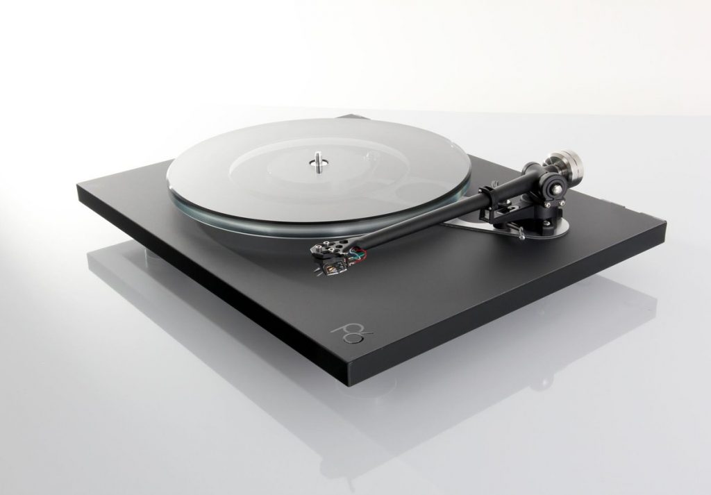 Rega's new Planar 6 seen here without platter mat and cover.  Engineered for optimum accuracy