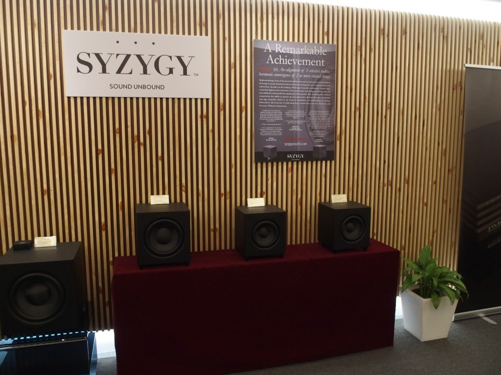 AV Designs now sells subwoofers from Syzygy.