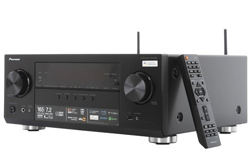Pioneer's VSX-933 AV Receiver will be among the many latest Pioneer AV products on display at the coming KLIAVS 2018