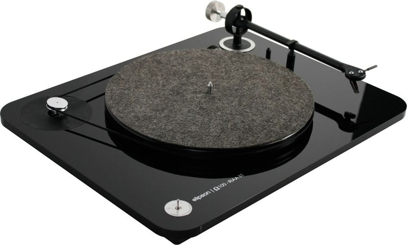 The Elipson Omega 100 BT will be on hand to spin the tunes for our listening pleasure.