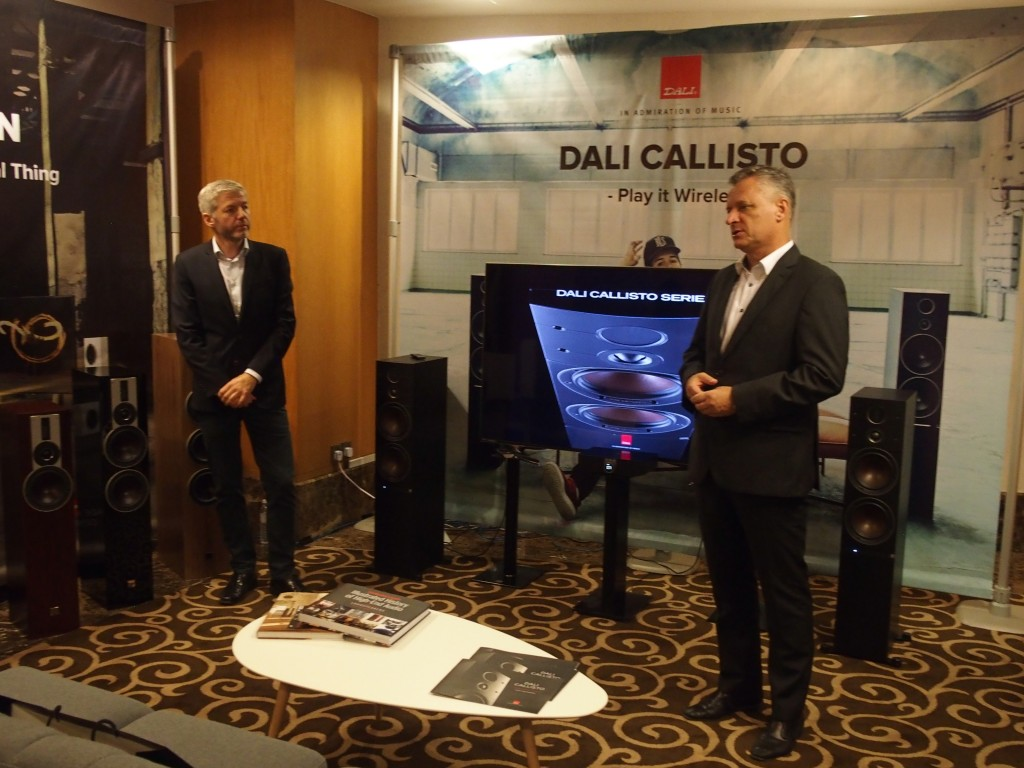 KLIAVS 2018: Dali launches Callisto wireless speaker system