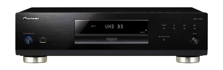Pioneer's long awaited 4K UHD Blu-ray Player, the UDP-LX500 to hit the stores soon