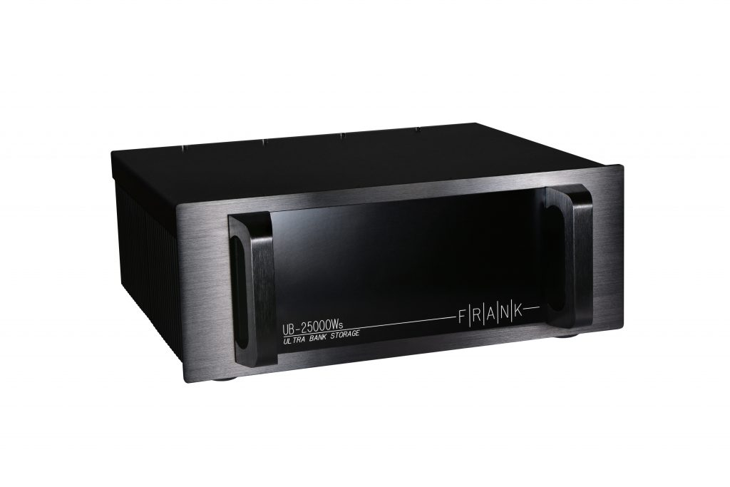 The Ultra Bank UB-25000WS power conditioner. One of Frank Acoustics most well received audiophile product