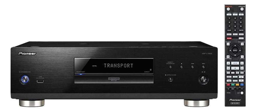 Pioneer's flagship UHD Blu-ray Disc Player, the UDP-LX800