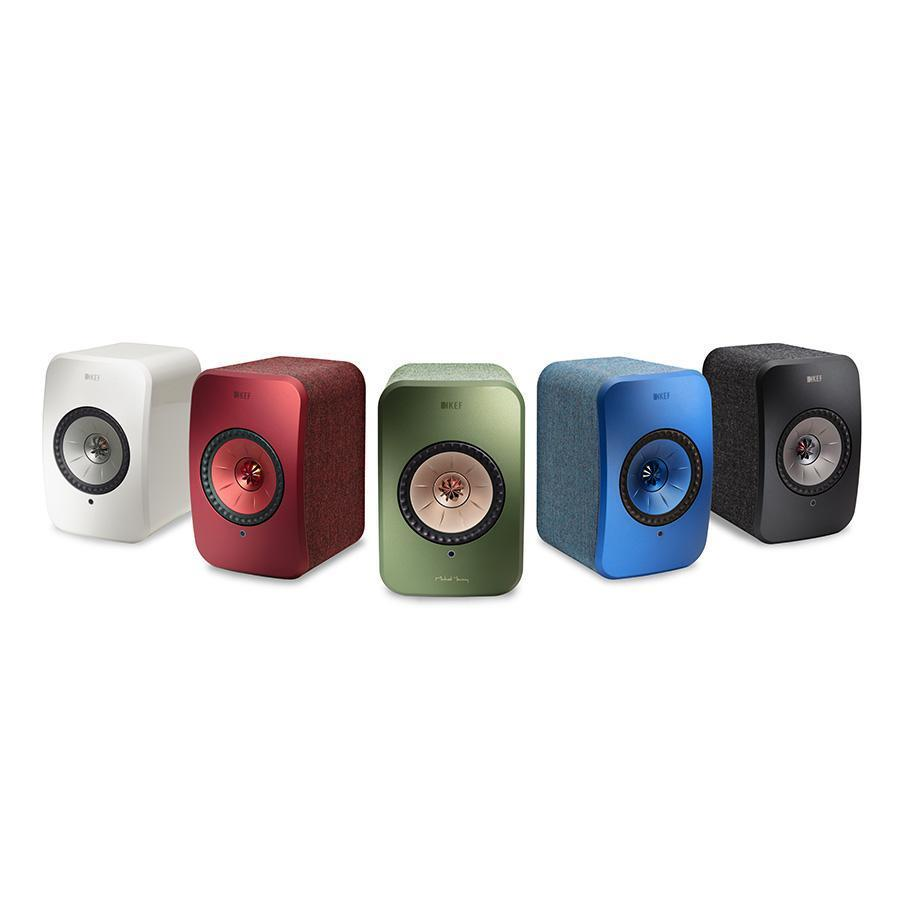 The KEF LSX comes in five vibrant and refreshing colors