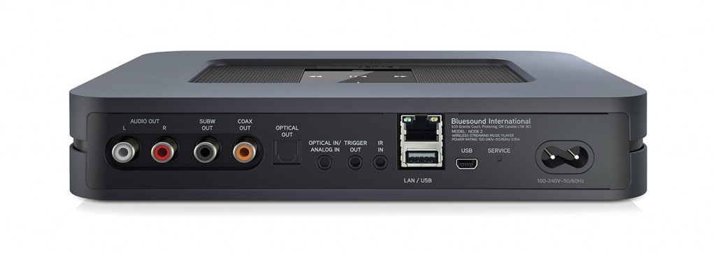The Bluesound Node 2i's look hasnt changed much from its predecessor but packs a whole new punch