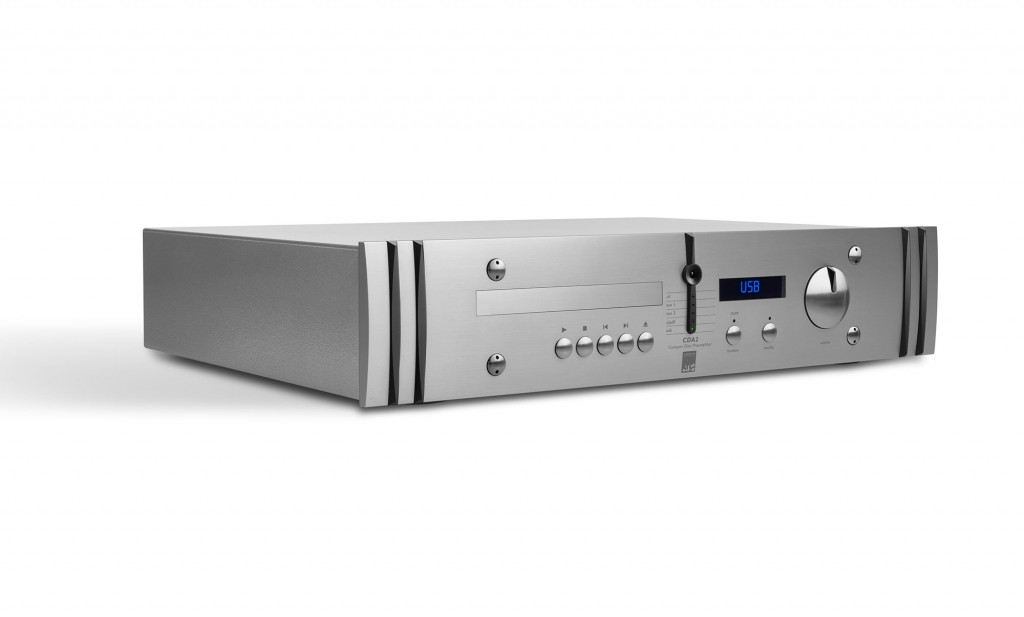 This is an all-in-one CD player/DAC/preamp/headphone amp