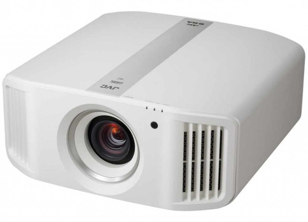 The JVC DLA N-5 projector i a native 4K projector